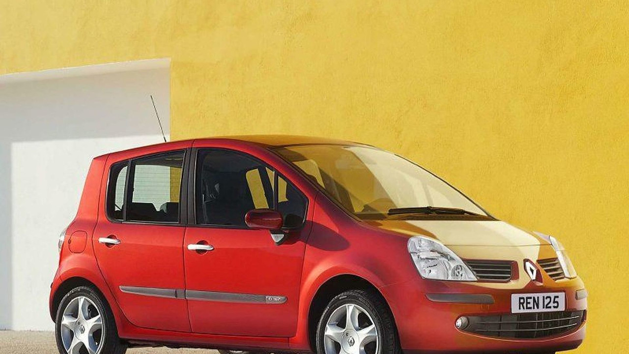 2007 Renault Modus gets Minor Facelift