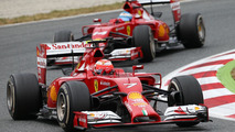 Ferrari's F1 past and 'future' meet at MotoGP