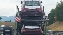 Fiat 500 facelift partially revealed in spy photos