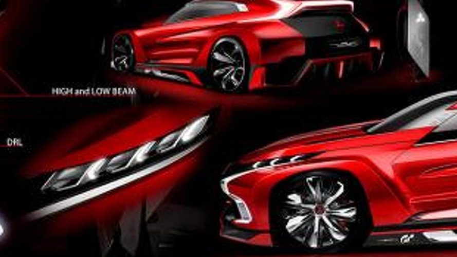 Mitsubishi XR-PHEV Evolution Vision Gran Turismo concept unveiled [video]