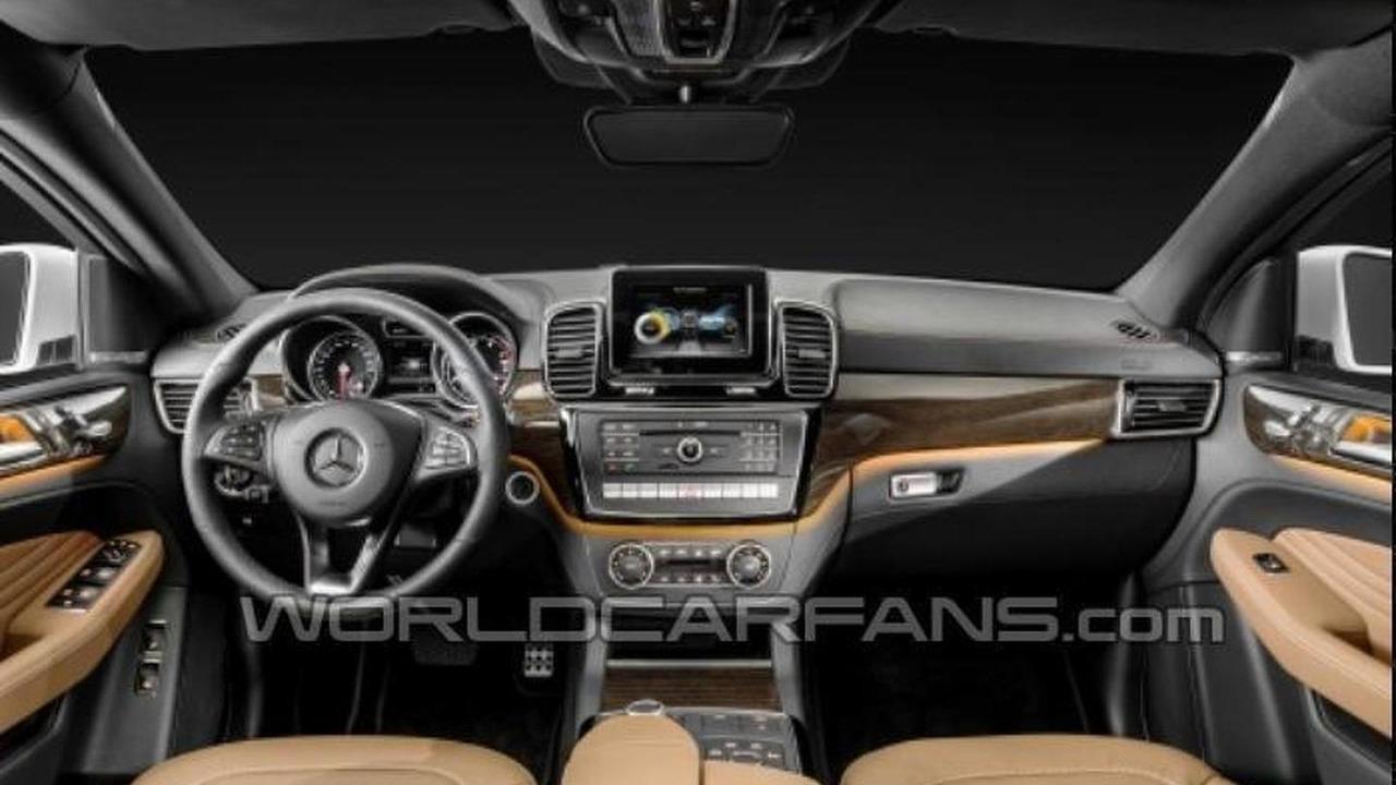 Mercedes GLE Coupe leaked photo
