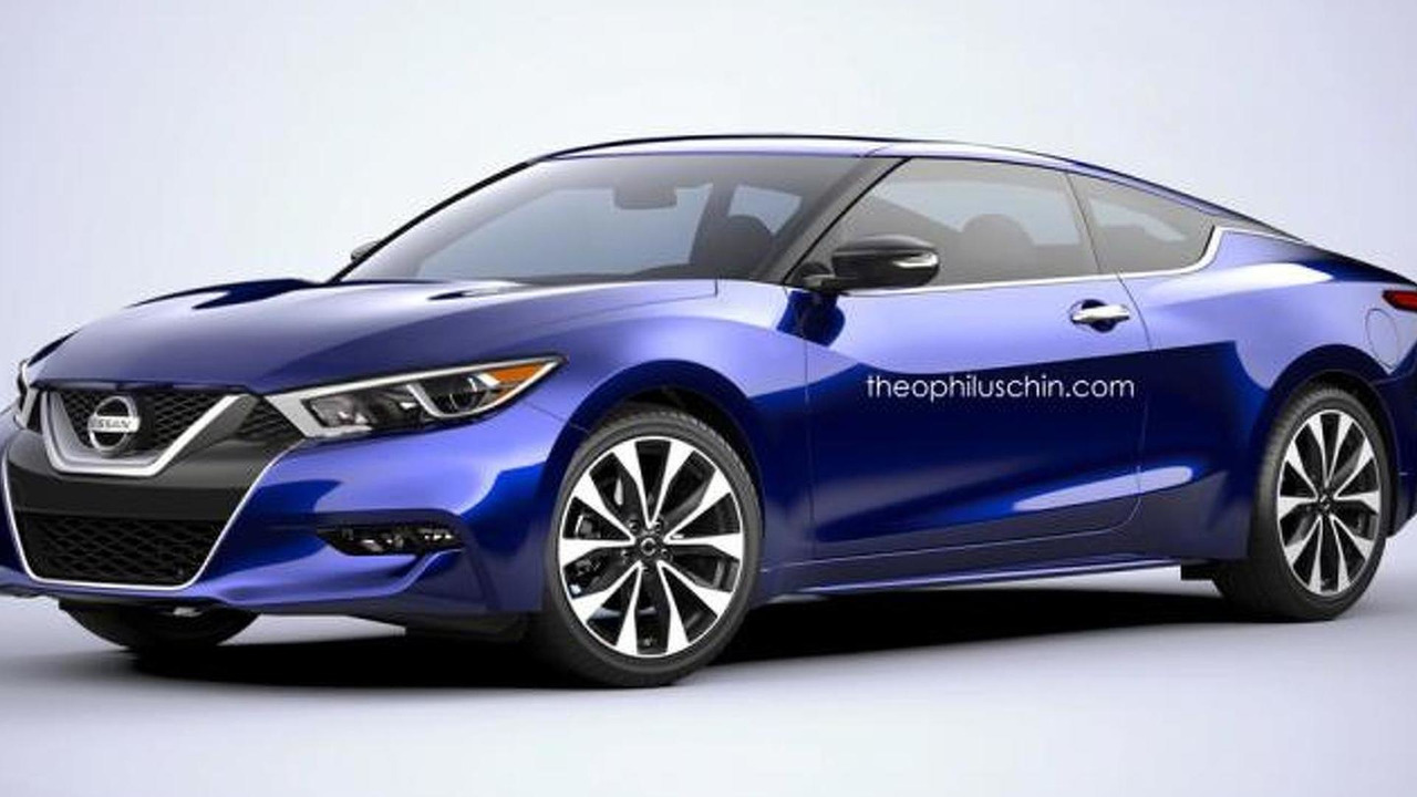 Nissan Maxima Coupe render