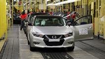 2016 Nissan Maxima production