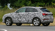 2015 Audi Q3 facelift spied showing new details