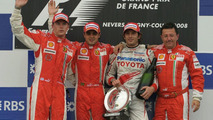 Massa Leads Ferrari 1-2 in France