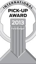 Ford Ranger wins International Pick-Up Award 2013 [video]