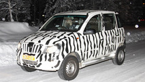 Mahindra Mini Xylo spied photos 04.02.2012