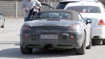 2012 Porsche Boxster prototype at BMW FIZ - 4.3.2011
