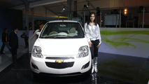 Chevrolet Spark EV live at 2010 New Delhi Auto Expo - 1200 - 06.01.2010