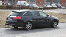 Opel Insignia OPC Sport Tourer Mule First Spy Photos