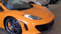 Rare McLaren MP4-12C High Sport poses for the camera [video]