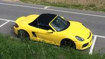 Porsche Boxster Spyder spotted in the flesh