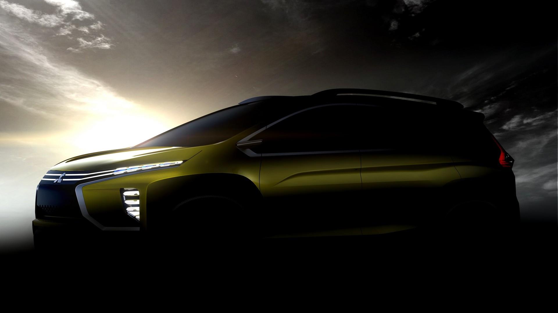 Mitsubishi small crossover MPV concept teased for Indonesian world premiere