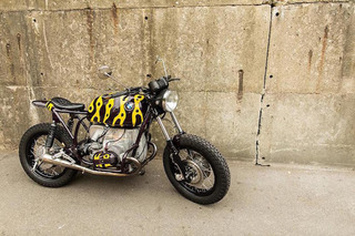 BMW R80/7 Goes Hopping Mad With Poison Dart Frog Makeover