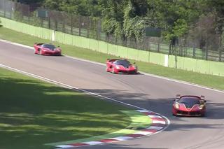 Watch Four $2.7 Million Ferrari FXXK Hypercars Roar on Track
