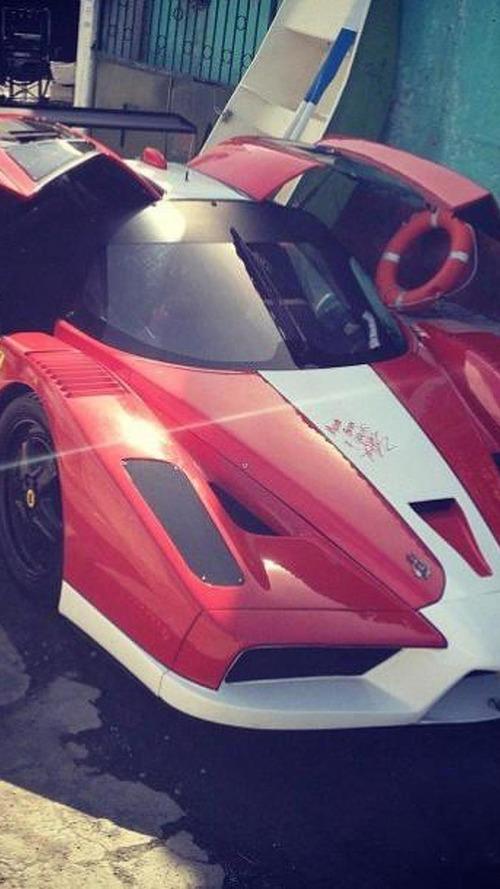 Ferrari FXX from Fast & Furious 6 is a replica