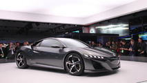 Acura NSX live in Detroit 15.01.2013