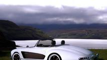 Mercedes-Benz 300 SL Roadster (W198) gets wide body kit from Atelier Valdeig