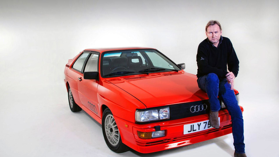 Audi Quattro from Ashes to Ashes being auctioned off on eBay