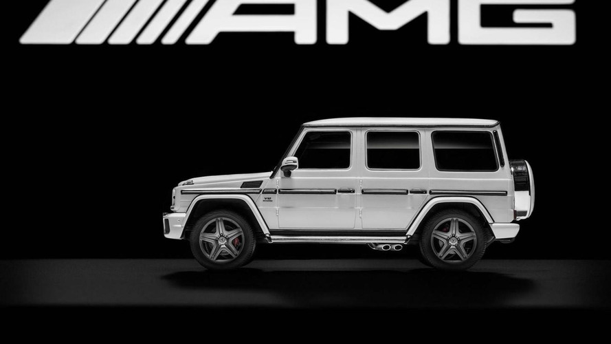 Mercedes-AMG introduces five limited edition White Series scale models