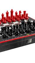 Ferrari carbon fiber chess set costs 1,525 EUR