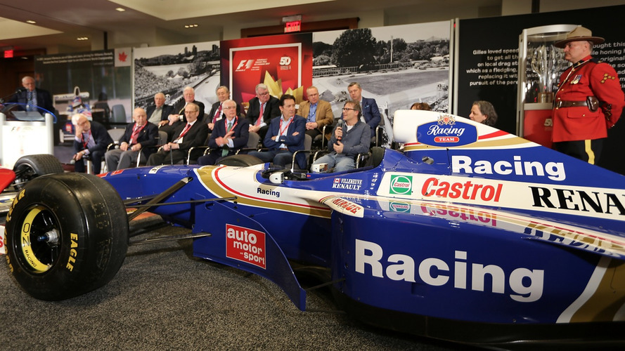 50 years of Formula 1 in Canada at the auto show