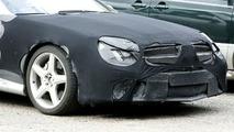 Spied: Mercedes SL Facelift & SL AMG