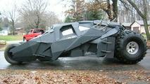 Man Makes Batmobile Replica In His Own Garage