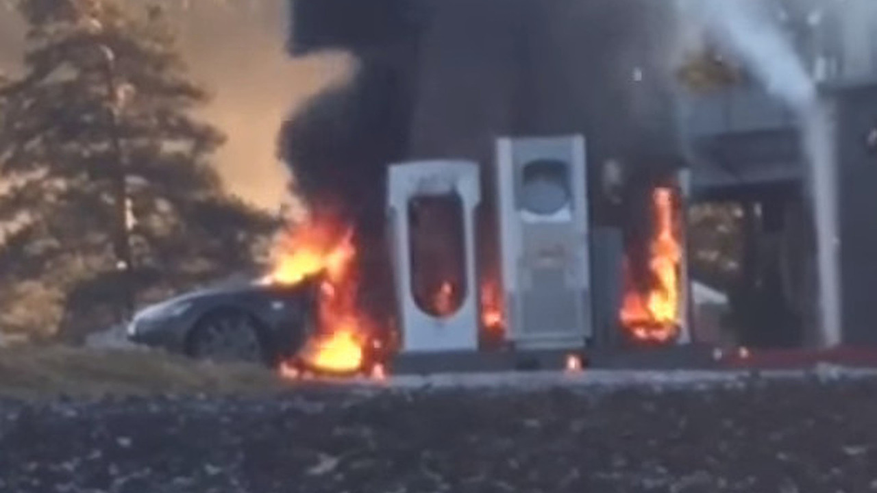 Tesla Model S catches fire in Norway