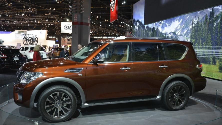 2017 Nissan Armada patrols Chicago Auto Show (53 photos)