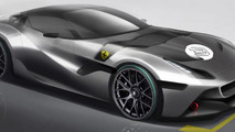 Ferrari teases another one-off model