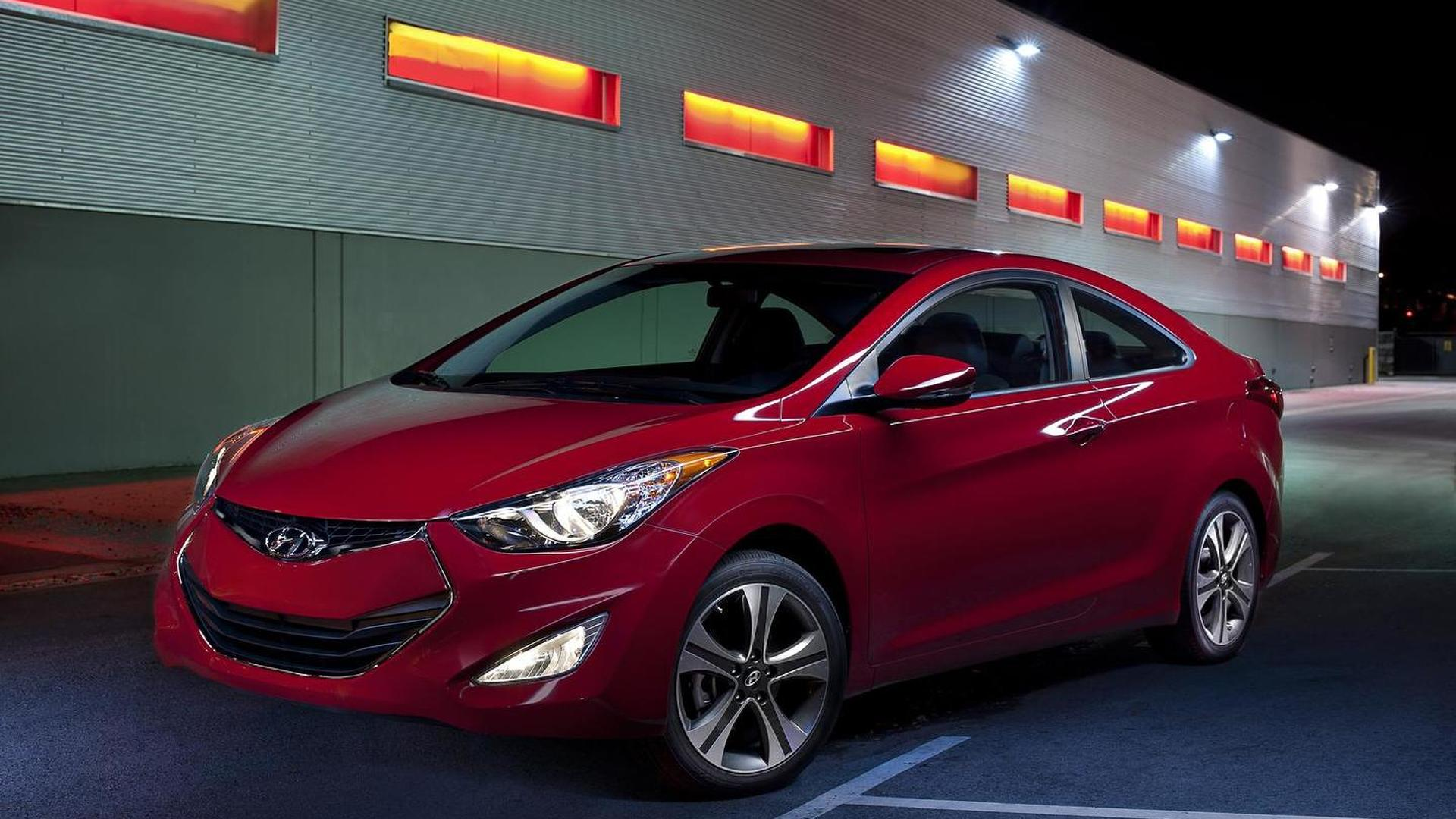 2013 Hyundai Elantra Coupe unveiled in Chicago