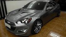 2012 Hyundai Genesis Coupe leaked photo - 19.9.2011