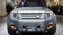 Land Rover DC100 Defender Concept live in Frankfurt