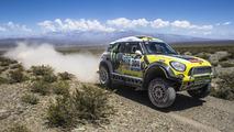 Joan Roma's MINI ALL4 Racing at Dakar 2014