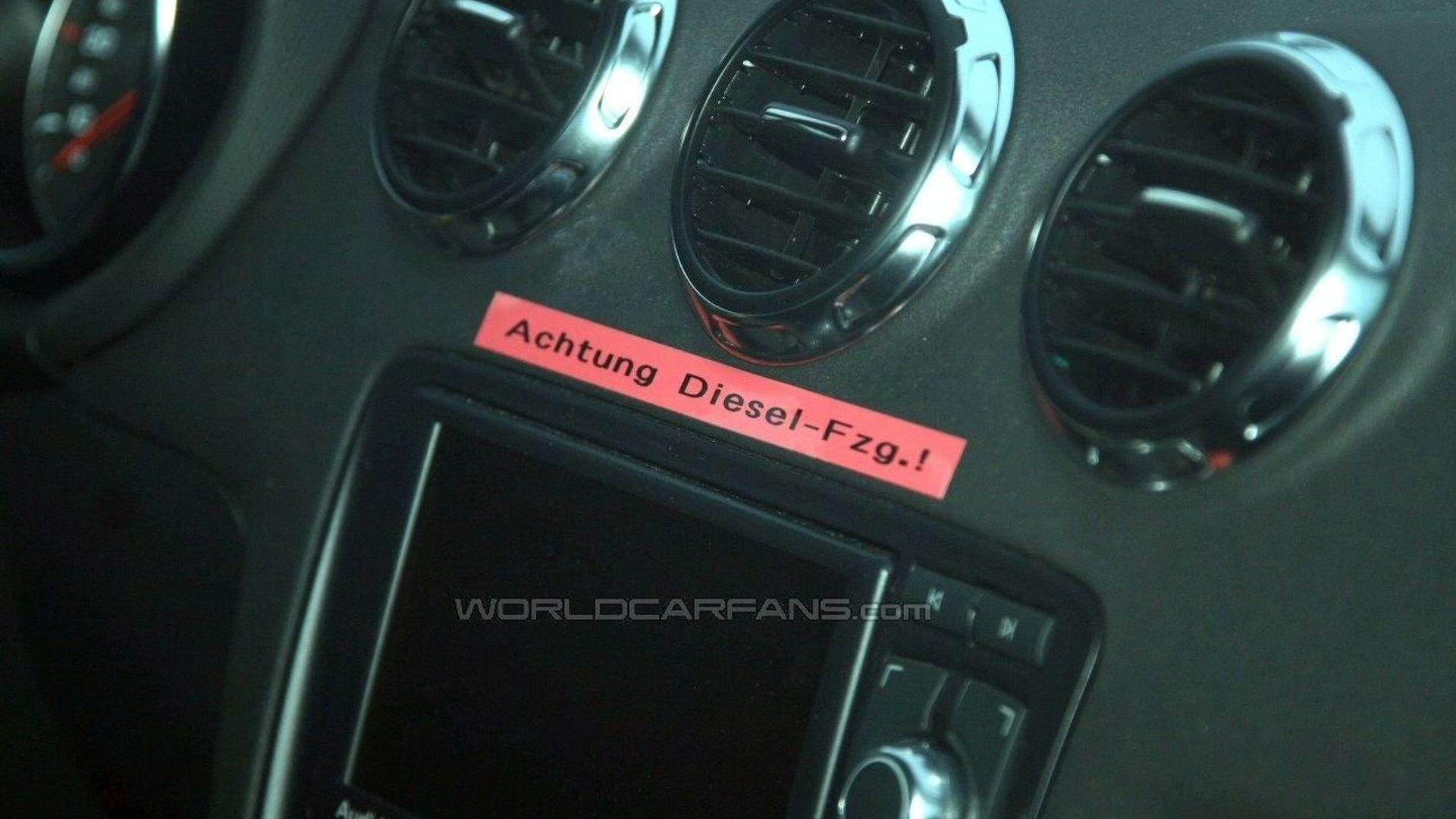 New Evidence Confirms Audi TT Diesel