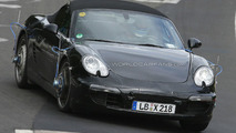 2011 Porsche Boxster Spied on Nurburgring