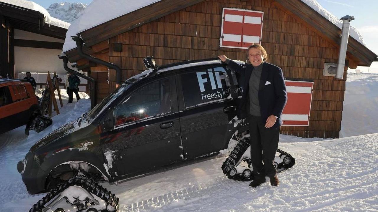 Luca di Montezemolo (ITA), Scuderia Ferrari, FIAT Chairman and President of Ferrari - Wrooom Ferrari Ski Meeting, 16.01.2009 Madonna di Campiglio, Italy