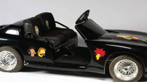 Michael Jackson's black Dodge Viper mini-car with The Simpsons decorations