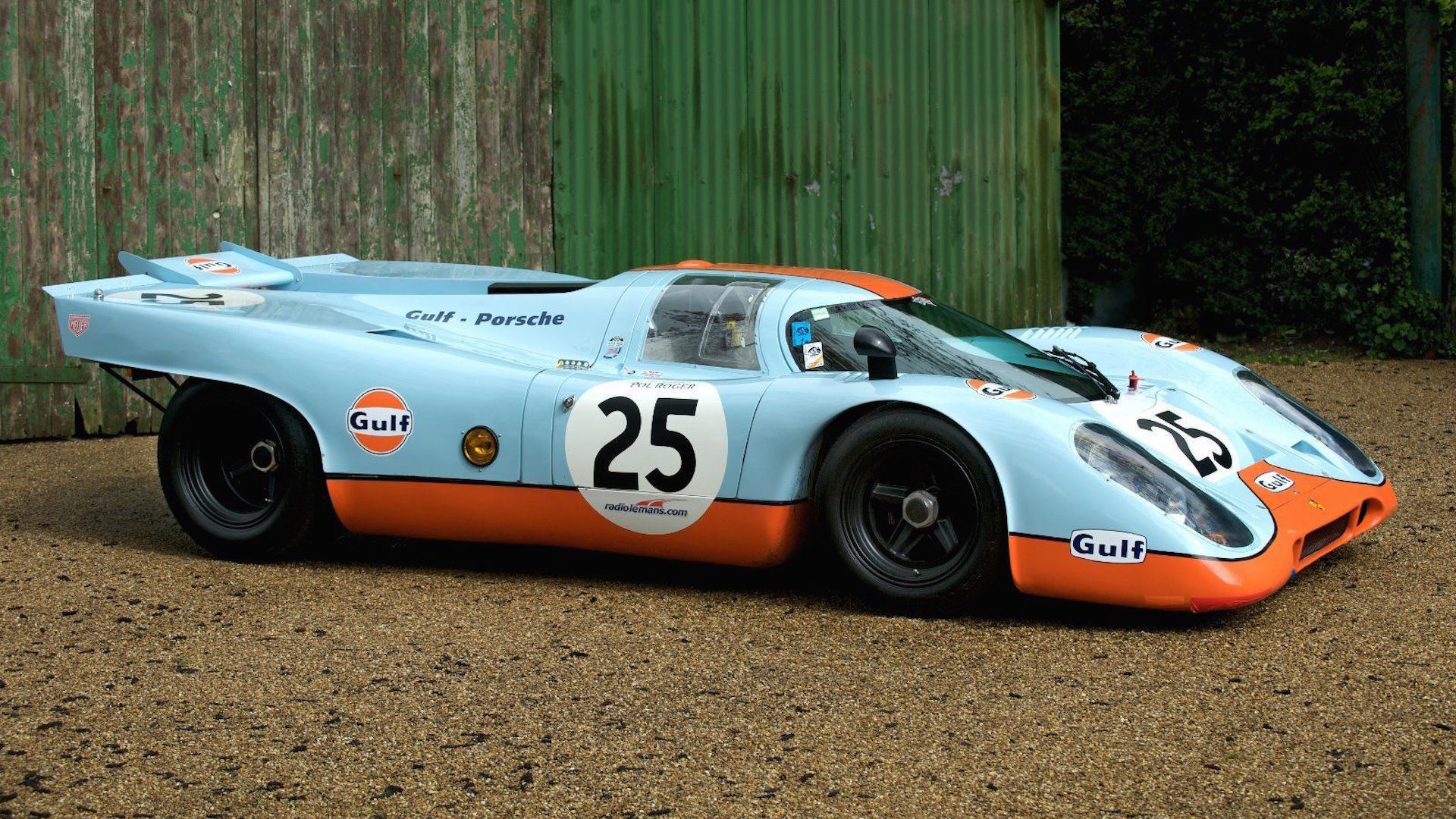 porsche 917 replica will let you live out your le mans fantasies. Black Bedroom Furniture Sets. Home Design Ideas
