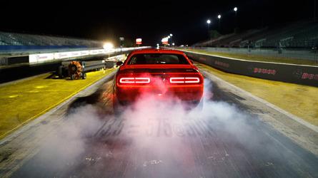 Dodge Challenger SRT Demon shows off drag-focused suspension