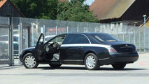 Maybach 62 Facelift spy photos