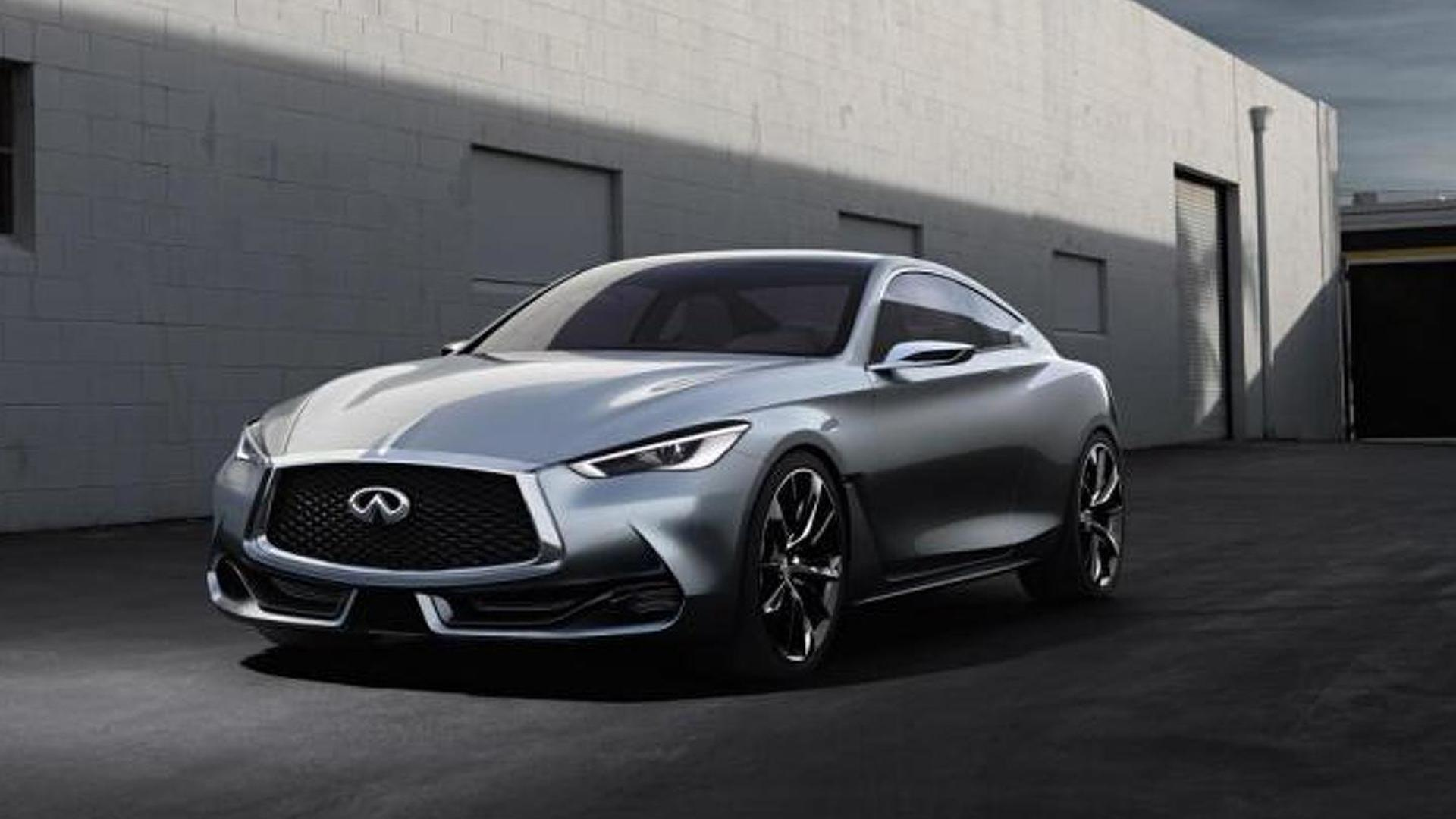Infiniti Q60 concept new images released