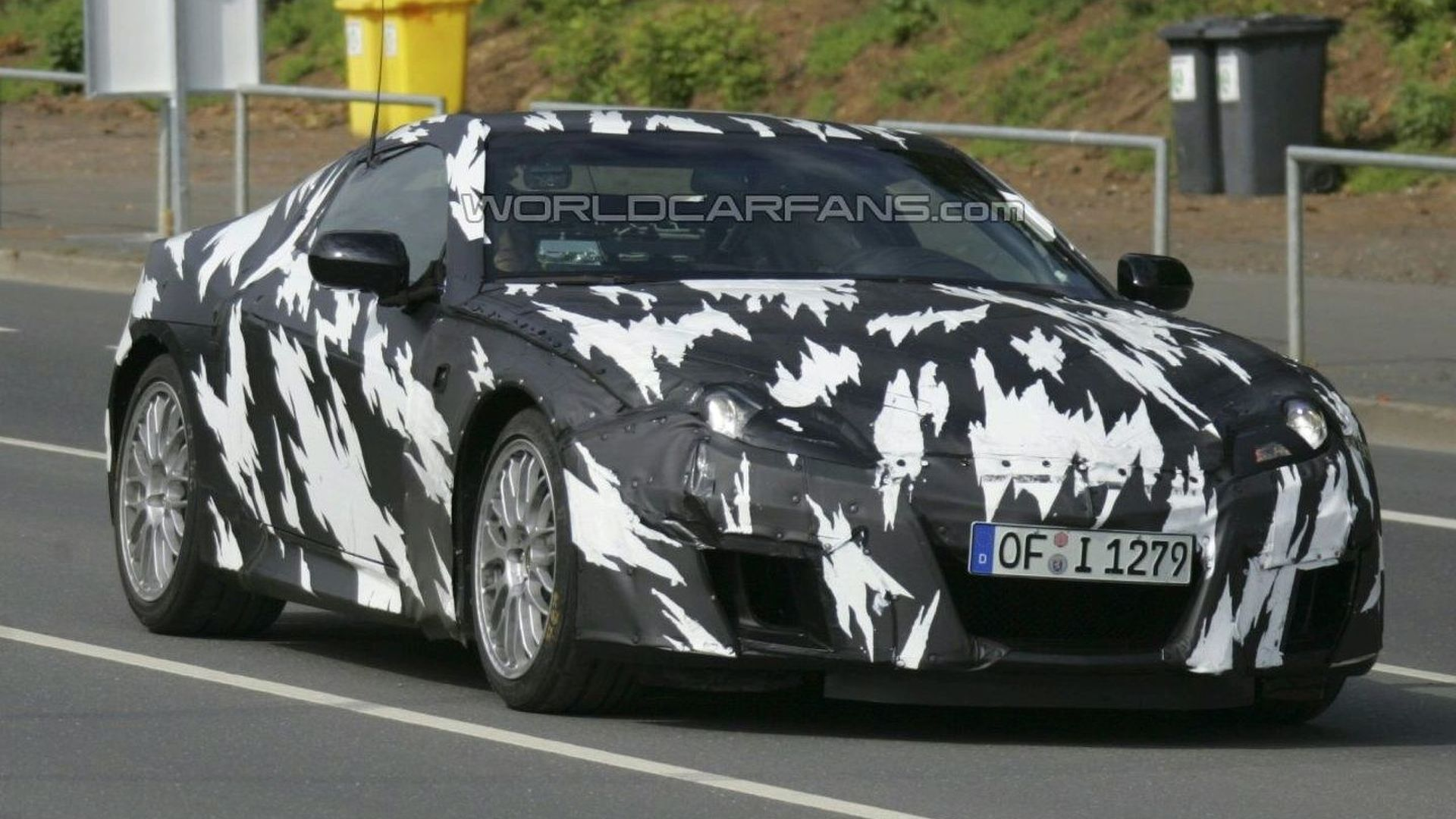 New Honda NSX Prototype Comes Out To Play
