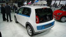 Volkswagen Winter Up concept live in Geneva 06.03.2012