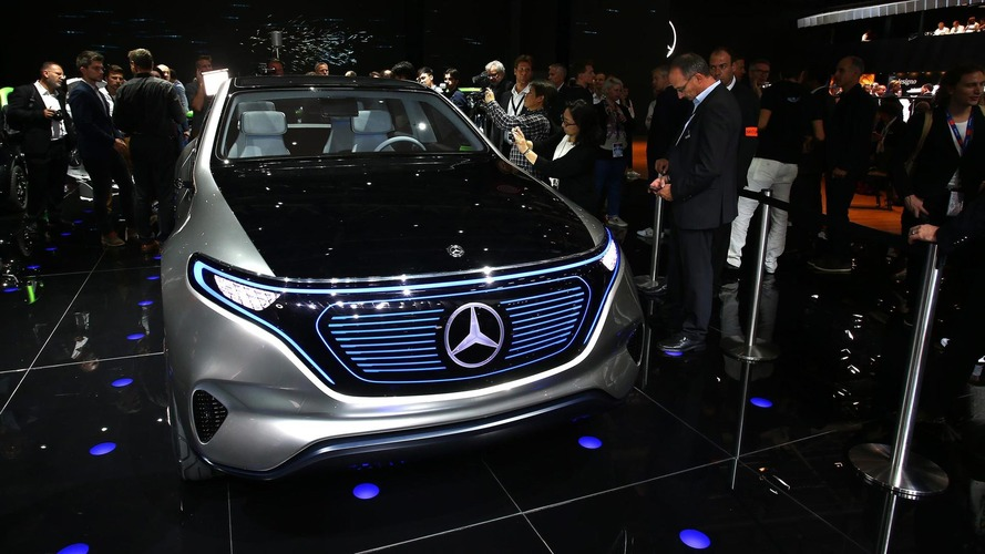 Mercedes Generation EQ concept electrifies Paris with 402 hp