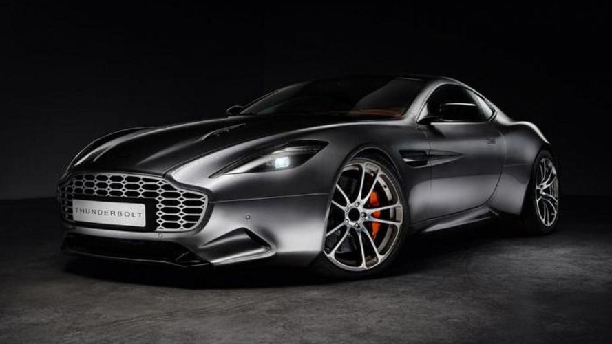 Henrik Fisker reveals Aston Martin Vanquish-based Thunderbolt concept