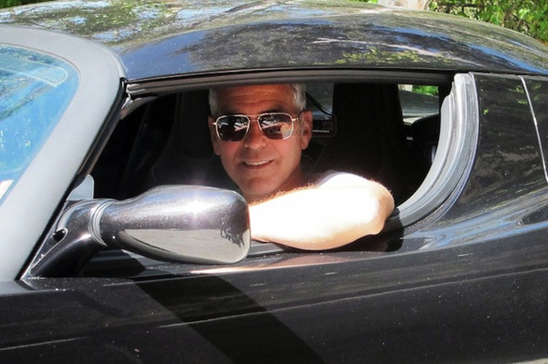George Clooney Unhappy With Tesla