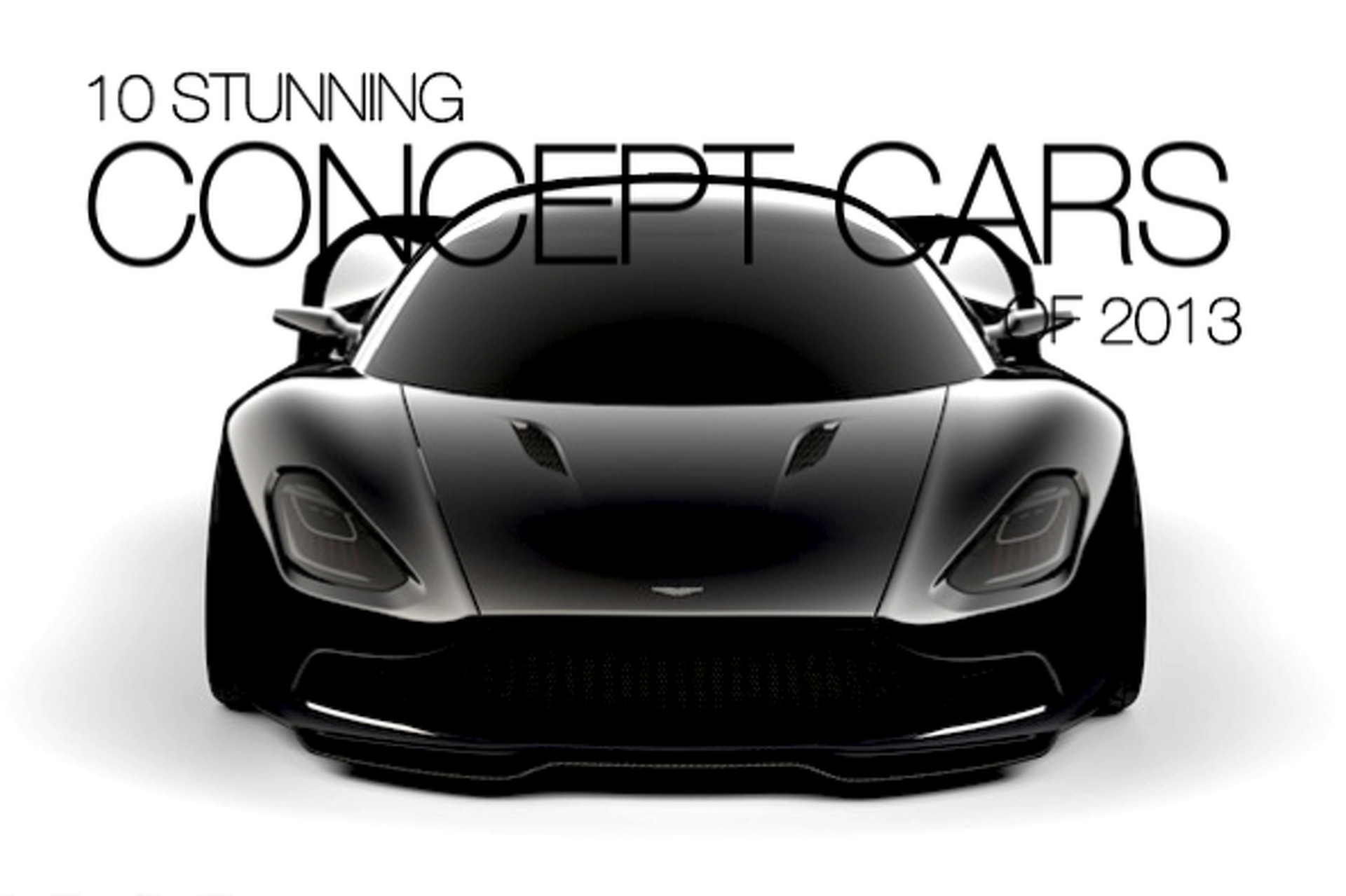 10 Stunning Concept Cars of 2013