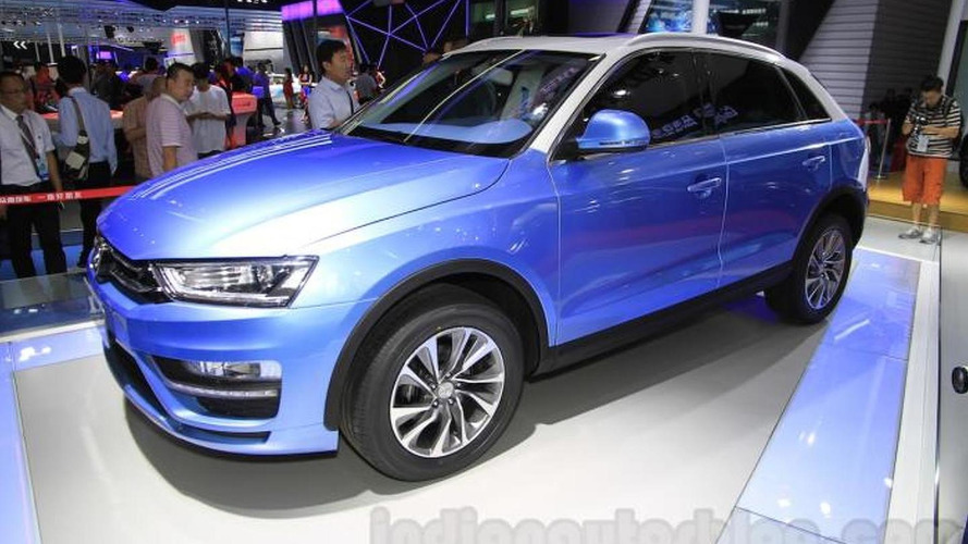 Attack of the clones: Zotye S21 is an Audi Q3 imitator at Chengdu Motor Show